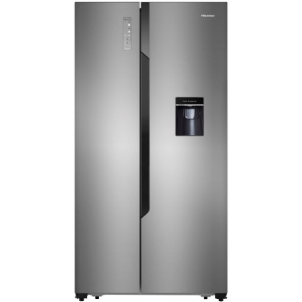 Hisense 514L Side by Side Fridge with Water Dispenser-H670SI-WD