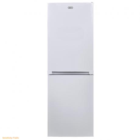 Defy 228L Upright Bottom Freezer Fridge-White-C300W