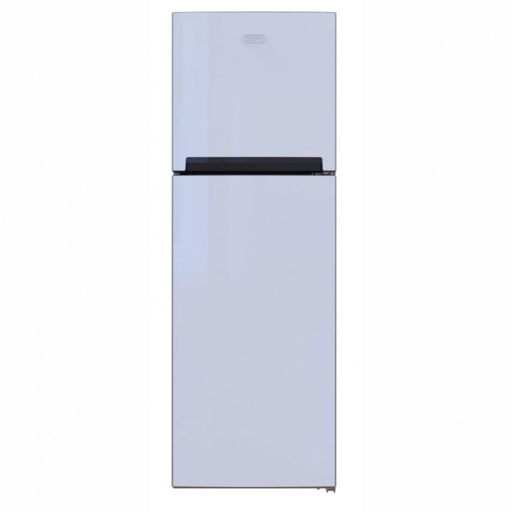 Defy 151L Upright Top Freezer Fridge-White-D200