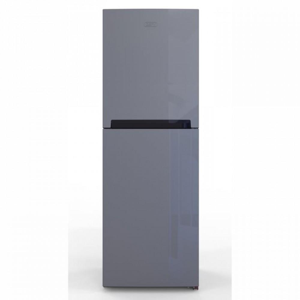 Defy 174L Upright top freezer fridge-Metallic-D235