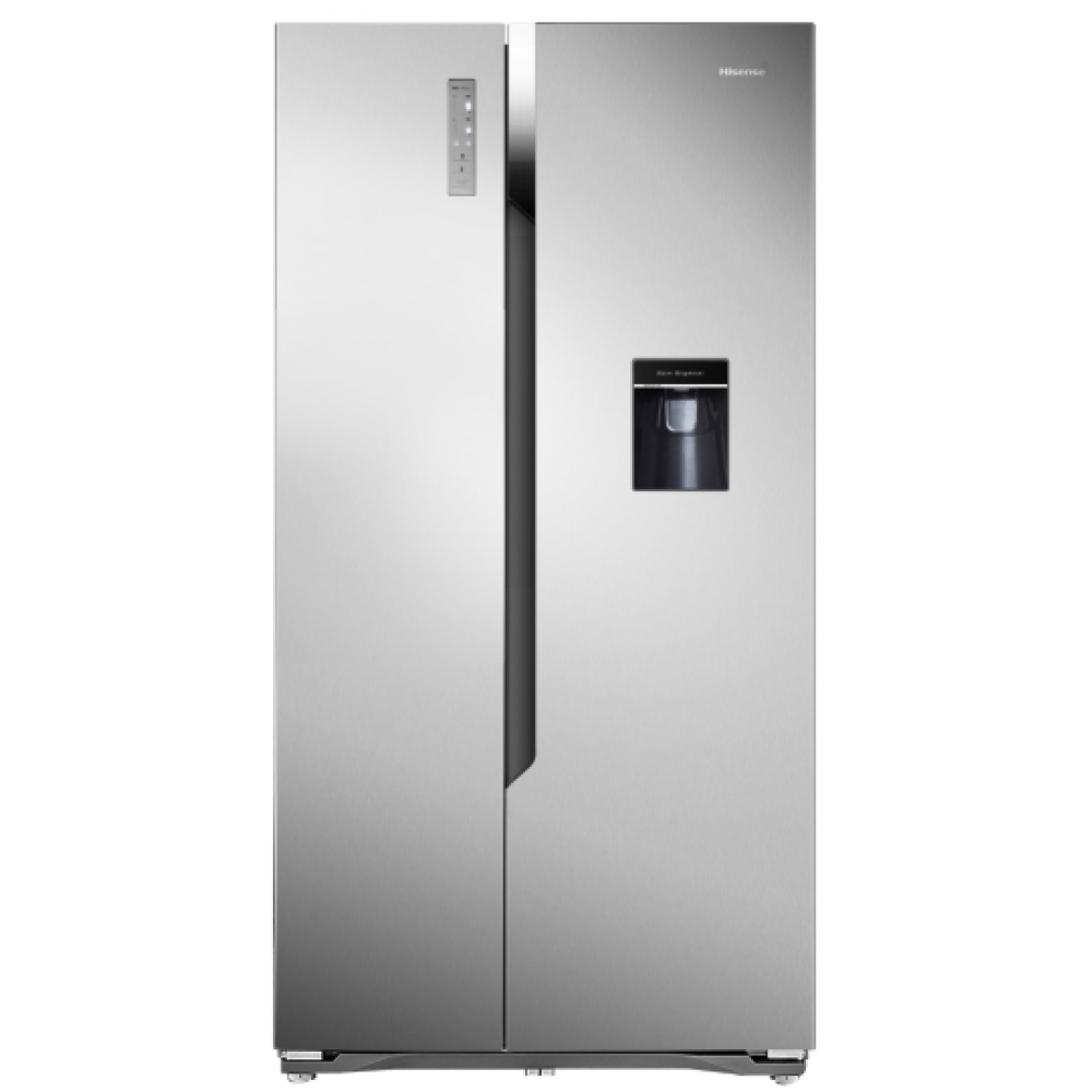 Hisense Side By Side 516L Fridge With Water Dispenser-H670SS-WD