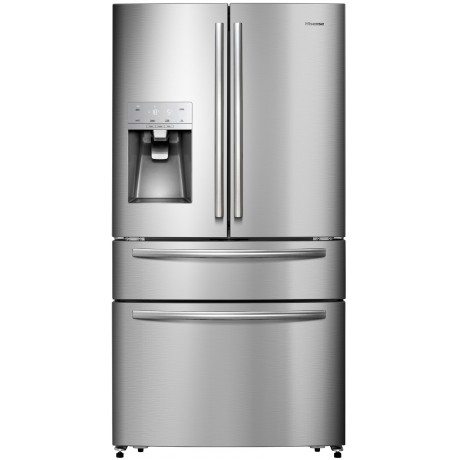 Hisense 516L French Door Fridge with water dispenser-H701FS-ID