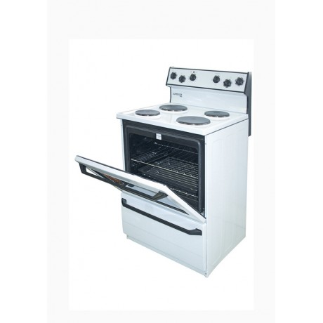 Superior 4 Plate Cooker-S488 White